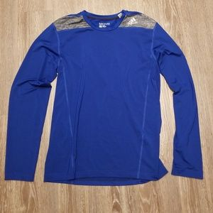 adidas Shirts - Techfit fitted long sleeve shirt
